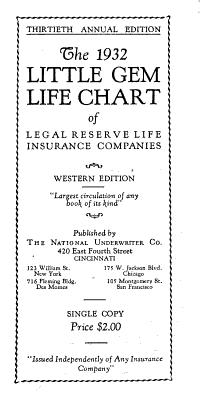 Little Gem Life Chart PDF