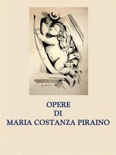 Opere di Maria Costanza Piraino