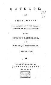Euterpe: een tijdschrift tot bevordering van fraaije kunsten en wetenschappen, Volume 2