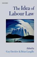 The Idea of Labour Law PDF