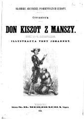 Cervantes' a. Don Kiszot z Manszy. Przekład W. Zakrzewskiego