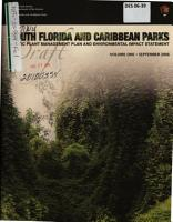 South Florida and Caribbean Parks Exotic Plant Management Plan PDF