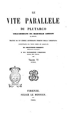 Le vite parallele di Plutarco PDF