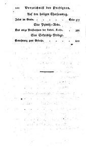 Die heiligen Evangelien auf alle Werktage der vierzigtägigen Fasten: auch zum Gebrauch außer der Fastenzeit als Predigten bearbeitet