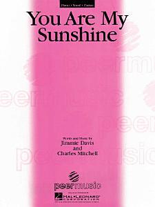 You Are My Sunshine Sheet Music Book
