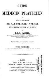 Guide du médecin praticien: ou résumé general de pathologie interne et de therapeutique appliquées, Volume2