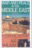 War and Peace in the Middle East Book