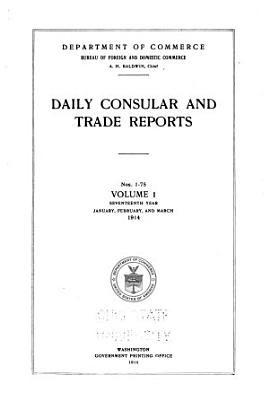 Daily Consular and Trade Reports PDF
