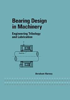 Bearing Design in Machinery Book
