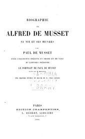 Biographie de Alfred de Musset: sa vie et ses œuvres