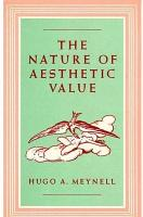 The Nature of Aesthetic Value PDF