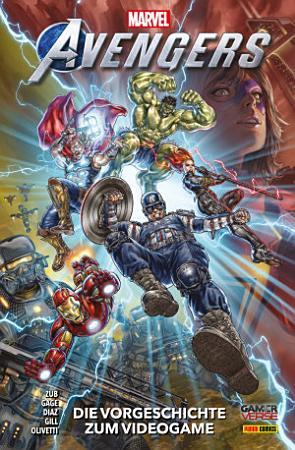 Marvel s Avengers Videogame   Die Vorgeschichte zum Videogame PDF