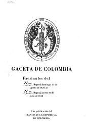 Gaceta de Colombia: Números 254-358