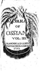 Works of Ossian: Volume 3