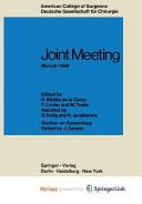 Joint Meeting Munich 1968