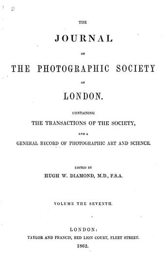 The Photographic Journal PDF