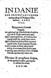 In Danielem Prophetam Commentarius
