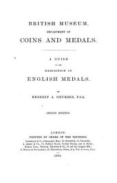 A Guide to the Exhibition of English Medals