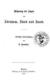 Ursprung der sagen van Abraham, Isaac und Jacob