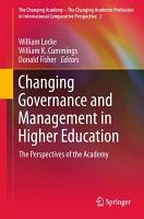 Changing Governance and Management in Higher Education PDF
