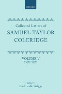 Collected Letters of Samuel Taylor Coleridge: 1820-1825