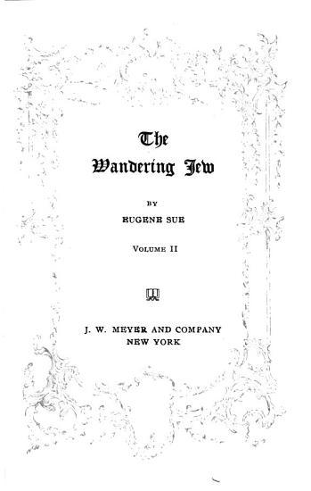 The Wandering Jew PDF