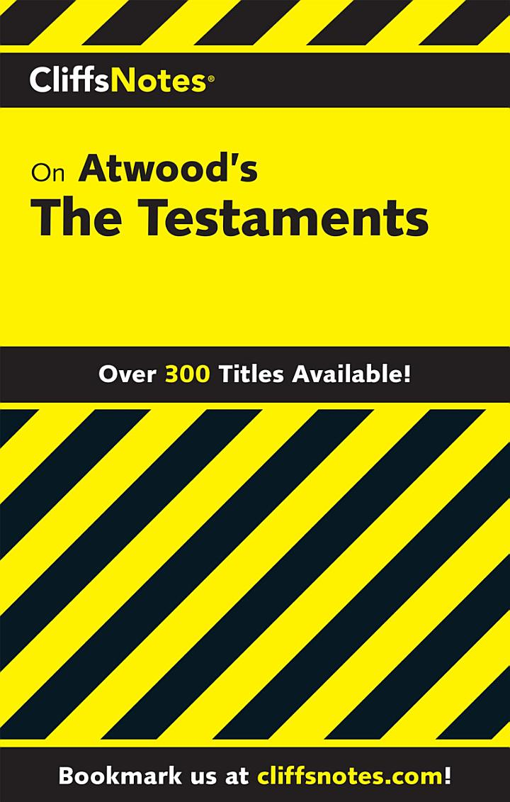 CliffsNotes on Atwood's The Testaments