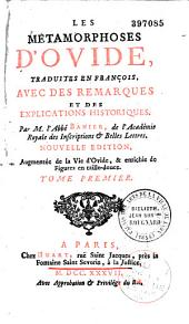 Les Métamorphoses d'Ovide en latin: Volume1