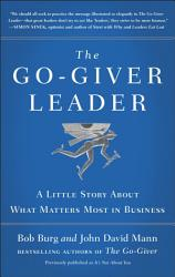 The Go Giver Leader Book PDF