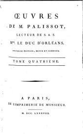 Œuvres de M. Palissot ...