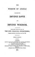 The wisdom of angels  concerning divine love and divine wisdom  tr   by N  Tucker   PDF