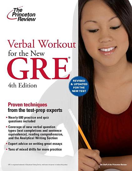 Verbal Workout for the New GRE  4th Edition PDF