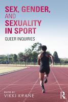 Sex  Gender  and Sexuality in Sport PDF