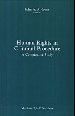 Human Rights in Criminal Procedure PDF