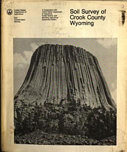 Soil Survey of Crook County  Wyoming Book