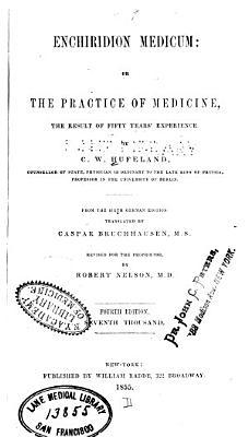 Enchiridion medicum  or  The practice of medicine