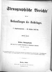 Stenographische Berichte über die Verhandlungen: Ausgabe 3