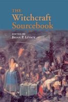 The Witchcraft Sourcebook PDF