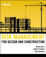 Risk Management for Design and Construction PDF
