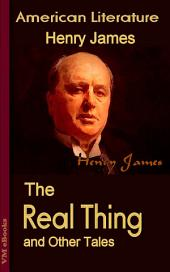 The Real Thing and Other Tales: American Literature