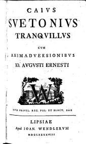 C. Suetonius Tranquillus