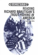 Reading Richard Brautigan's Trout Fishing in America