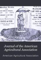 Journal of the American Agricultural Association PDF