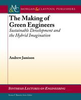 The Making of Green Engineers PDF