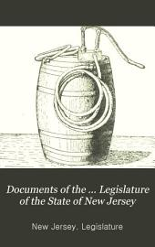 Documents of the ... Legislature of the State of New Jersey: Issue 4