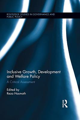 Inclusive Growth  Development and Welfare Policy PDF