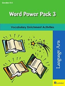 Word Power Pack 3 for Grades 4 5 PDF