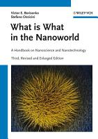 What is What in the Nanoworld PDF