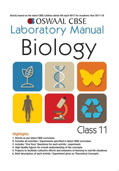 Oswaal CBSE Laboratory Manual Class 11 Biology Book  For 2021 Exam  PDF
