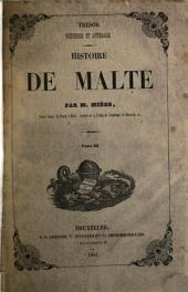 Histoire de Malte: Volumes3à4